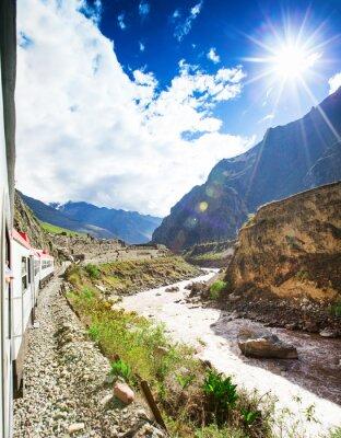Fototapeta Peru Rail z Cuzco do Machu Picchu w Peru