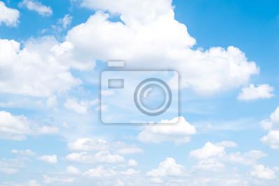 Fototapeta Piękne Błękitne Niebo I Chmury W Lecie.