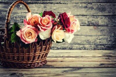 Fototapeta Piękne kwiaty róży