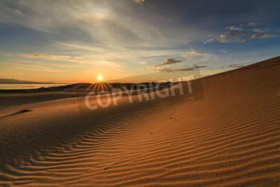 Fototapeta Piękne widoki na pustyni Gobi. Mongolia.