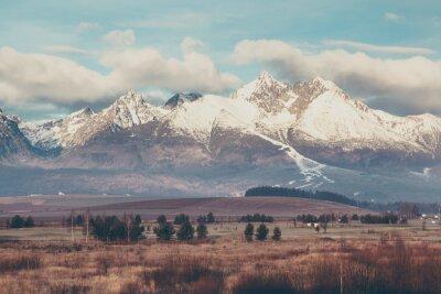 Fototapeta Piękny krajobraz górski