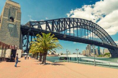 Fototapeta Piękny widok na Sydney Harbour Bridge