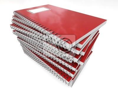 pila di quaderni