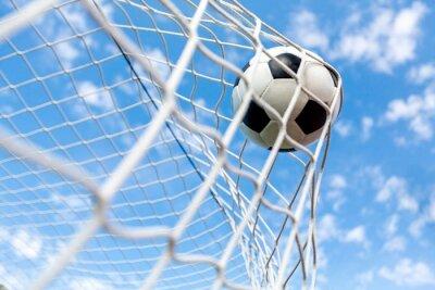 Fototapeta Piłka nożna, bramki, piłka nożna.
