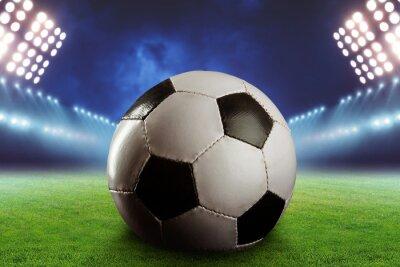Fototapeta Piłka nożna na boisko do piłki nożnej