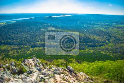 Fototapeta Pinnacle Mountain in Little Rock, Arkansas