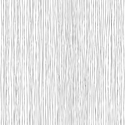 Fototapeta Pionowe linie bez szwu ręcznie rysowane wzór