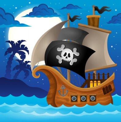 Fototapeta Pirate ship topic image 2
