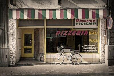 Fototapeta pizzeria