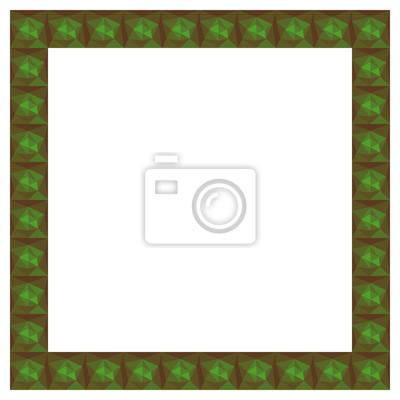 Fototapeta Plac abstrakcyjne geometryczne ramki. Wektor wielokątne tła.