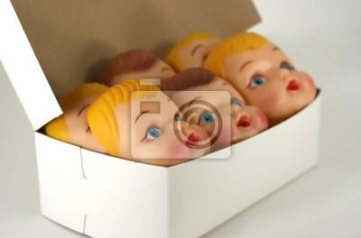 montaż twarze