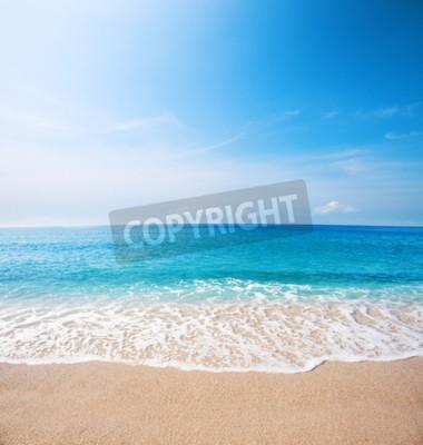 Fototapeta Plaża i piękne tropikalne morze