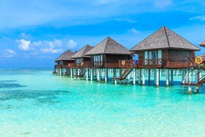 Fototapeta plaża z Malediwów