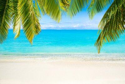 Fototapeta Plaża z morzem w tle