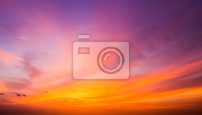 Fototapeta Po zachodzie słońca niebo.