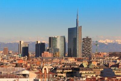 Fototapeta Poglądy Mediolanie
