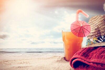 Fototapeta pomarańczowy napój