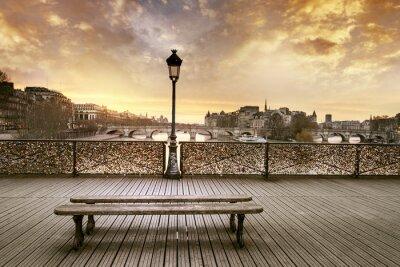 Fototapeta Pont des Arts w Paryżu