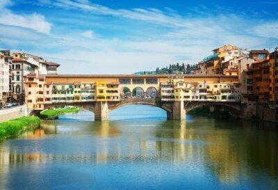 Fototapeta Ponte Vecchio, Florencja, Włochy