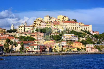 Fototapeta Porto Maurizio, Stare Miasto Imperia, Włochy