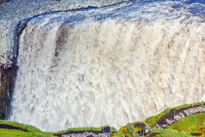 Fototapeta Potężny wodospad Dettifoss