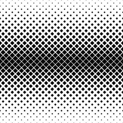 Fototapeta Powtarzanie monochromatyczny kwadrat wzór