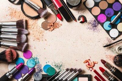 Fototapeta produkty kosmetyczne
