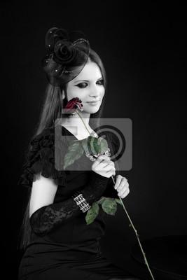 60d6b039 Fototapeta: Profesjonalne zdjęcia młodej pięknej dziewczyny, model, kobiety,