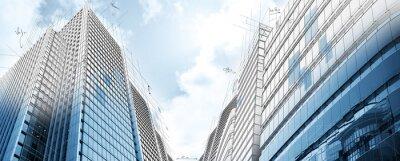 Fototapeta Projekt nowoczesnych budynków