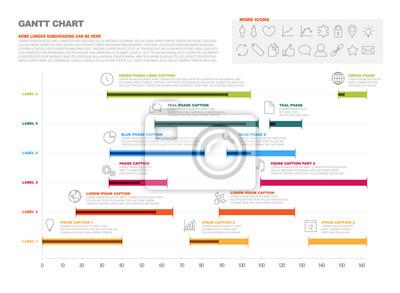 Projekt wykres gantta produkcja osi czasu fototapeta fototapety fototapeta projekt wykres gantta produkcja osi czasu ccuart Choice Image