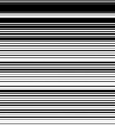 Fototapeta Prosto, poziome linie wzór z losowym grubości. Czarny