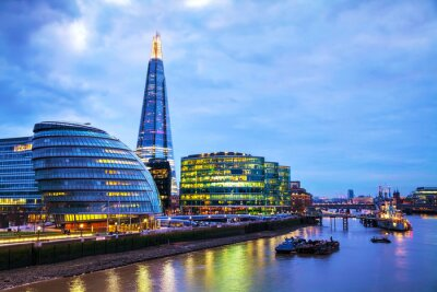 Fototapeta Przegląd Londynie z Shard London Bridge
