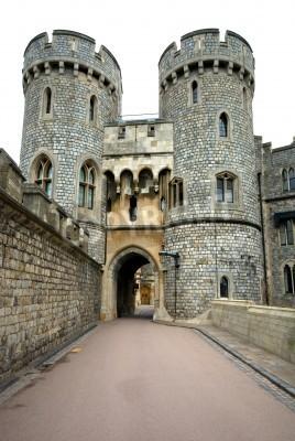 Fototapeta Przejścia w zamku Windsor, Anglia, Wielka Brytania