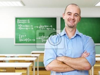 przekonany, nauczyciel