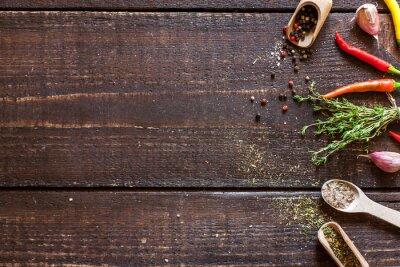 Fototapeta przyprawy i zioła