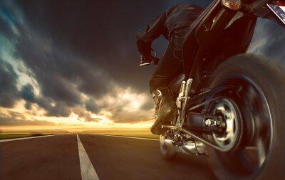 Fototapeta Przyspieszenie Motocykl