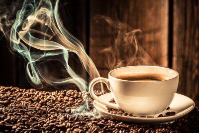 Fototapeta Puchar smak kawy z palonych ziaren