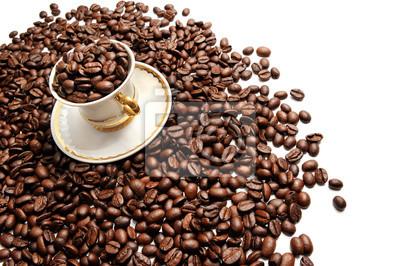 Fototapeta Puchar wypełniona kawy