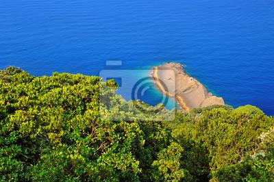 Fototapeta Punta Chiappa, Camogli, Włochy