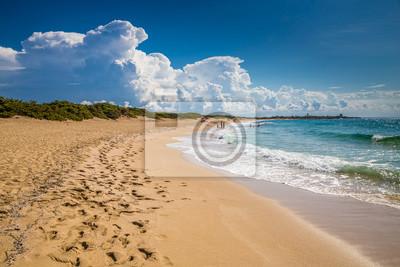 Fototapeta Punta Prosciutto Beach - Lecce, Italy