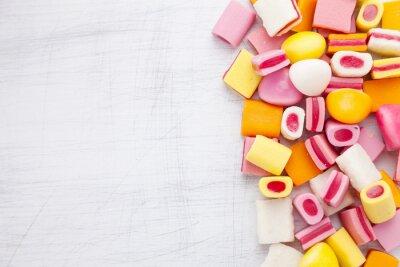 Fototapeta Pyszne słodki cukierek z kopi?