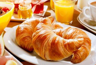 Fototapeta Pyszne śniadanie kontynentalne