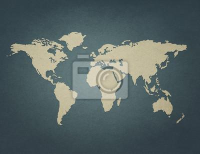 Retro mapa