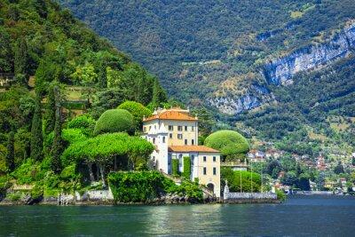 Fototapeta romantyczna Lago di Como, Villa del Balbianello