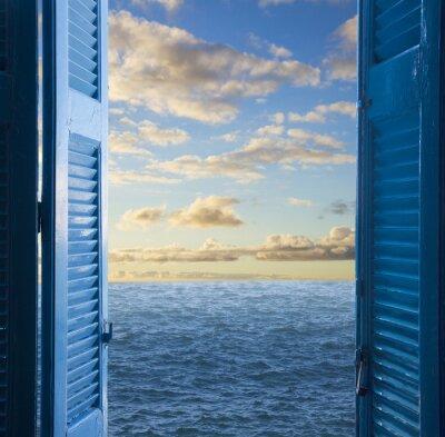 Otwarte drzwi na morze