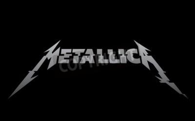 Fototapeta ROSJA - 02 lutego 2017: nowe logo Metallica