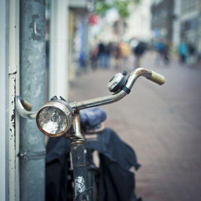 Fototapeta rowerów w Amsterdamie