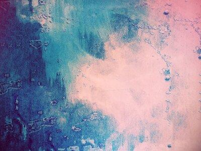 Fototapeta Różowy i niebieski abstrakcyjne tło