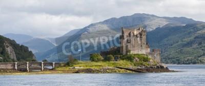 Fototapeta Ruiny starego zamku w Szkocji