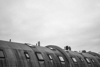 Fototapeta rundes Dach